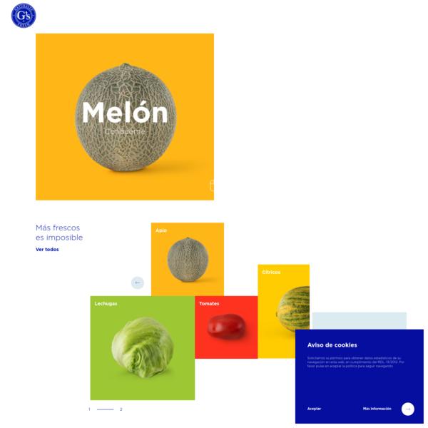 Grupo G's España - Cultivo y distribución de frutas y verduras