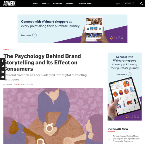 The Psychology Behind Brand Storytelling and Its Effect on Consumers