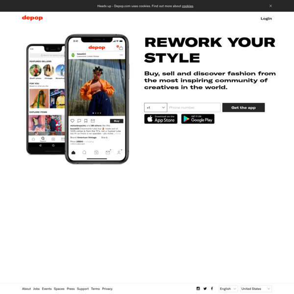 Depop - The creative community's mobile marketplace