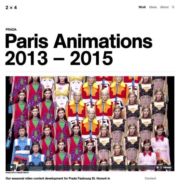 Paris Animations 2013 - 2015 - 2x4
