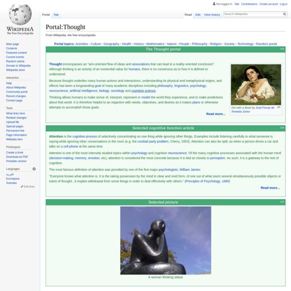 Portal:Thought - Wikipedia