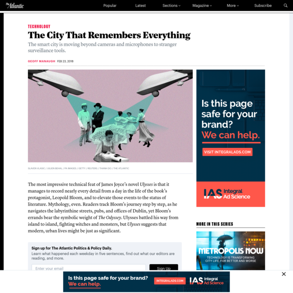 The City That Remembers Everything