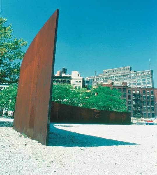 Richard Serra, Tilted Arc, 1981–1989