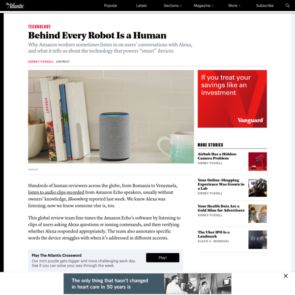 Behind Every Robot Is a Human
