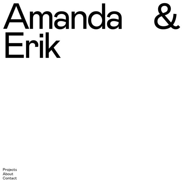 Amanda & Erik