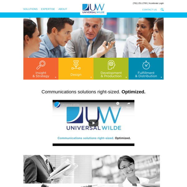 Universal Wilde | Marketing Services from Thought to Distribution