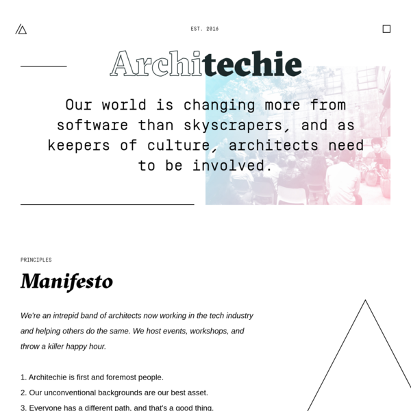 Architechie - Architecture and Technology