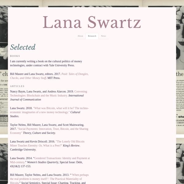 Lana Swartz