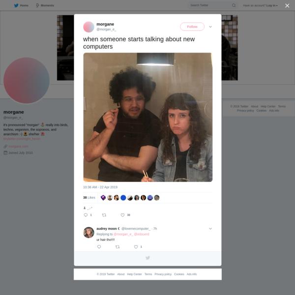 morgane on Twitter