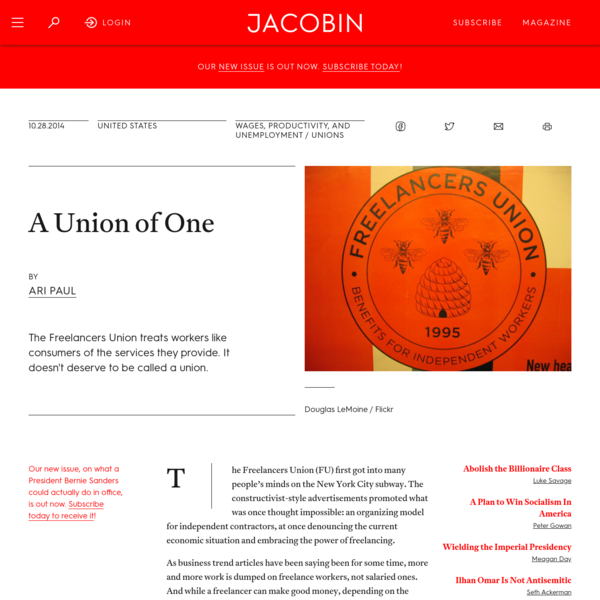 A Union of One