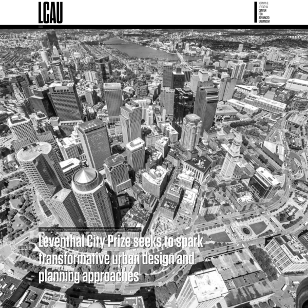 MIT Center for Advanced Urbanism | MIT Center for Advanced Urbanism