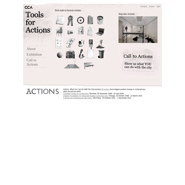 CCA Actions Exhibition