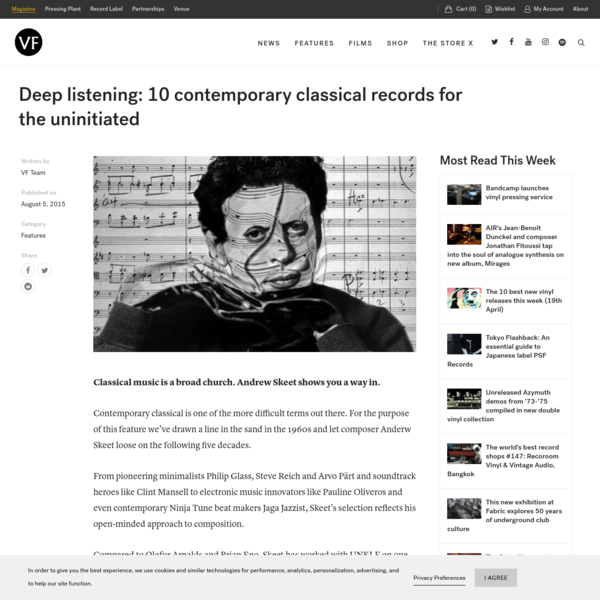 Deep listening: 10 contemporary classical records for the uninitiated