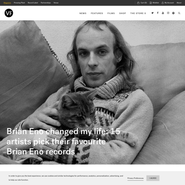 15 artists pick their favourite Brian Eno records