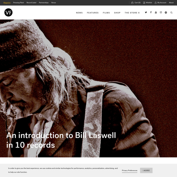 An introduction to Bill Laswell in 10 records