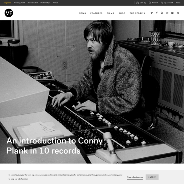 An introduction to the genius of Conny Plank in 10 records