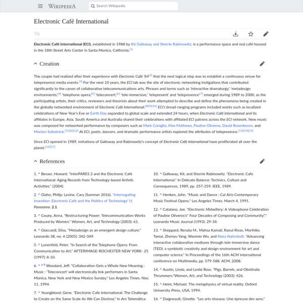 Electronic Café International - Wikipedia
