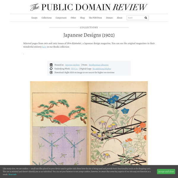 Japanese Designs (1902) – The Public Domain Review