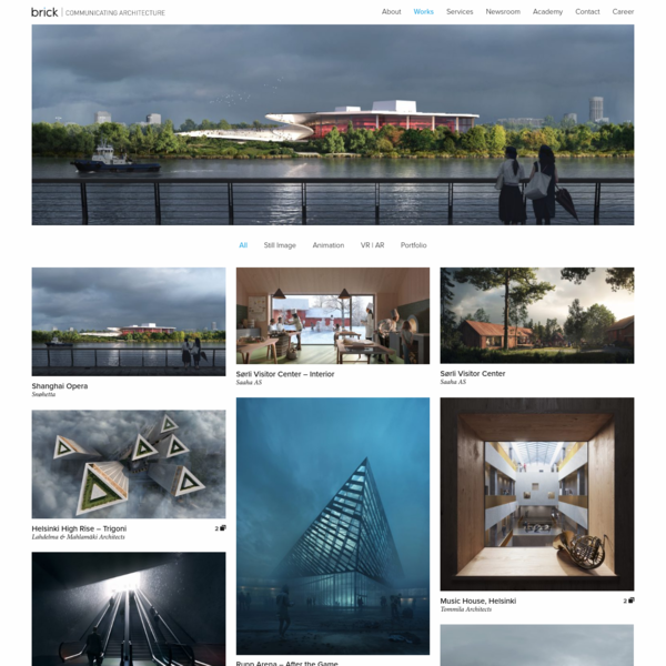 Architectural Visualization Portfolio | Brick Visual