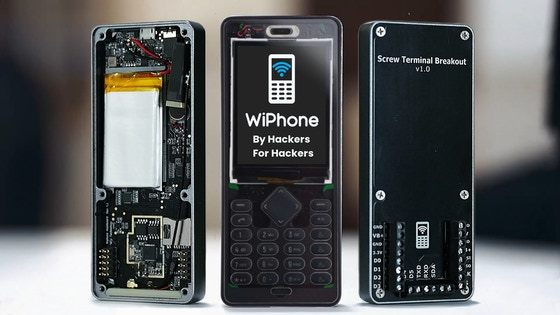 WiPhone, A Phone for Hackers and Makers