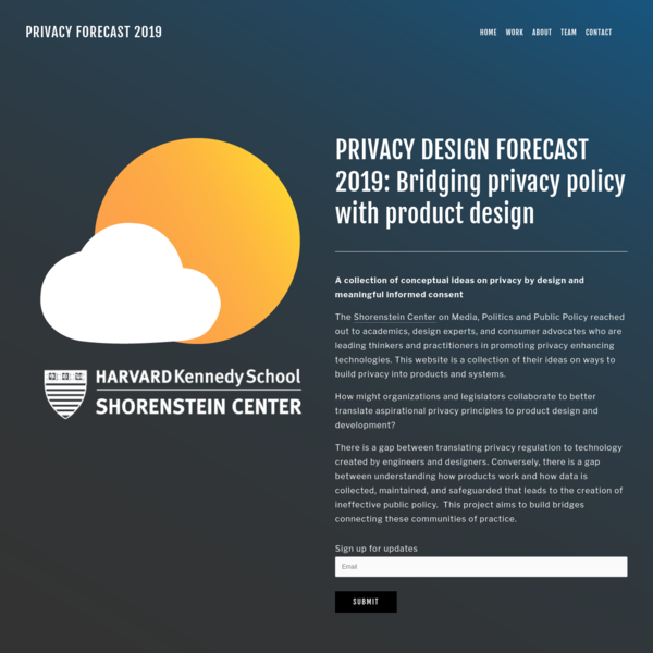 PRIVACY FORECAST 2019