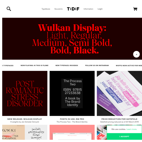 The Designers Foundry | Typefaces and Fonts