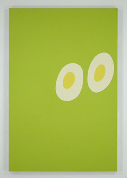 """""""Fried Eggs,"""" 2001, Carl Ostendarp"""