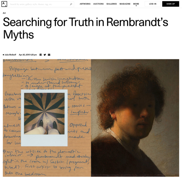 Searching for Truth in the Many Myths about Rembrandt