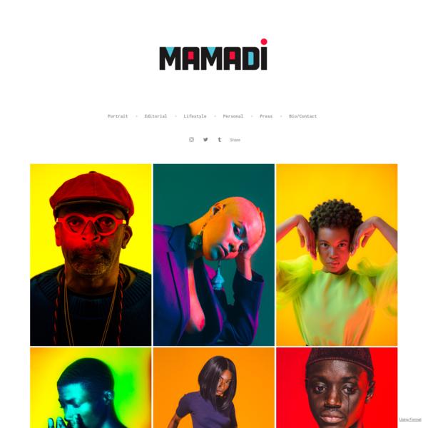 Home - Mamadi Doumbouya Porfolio