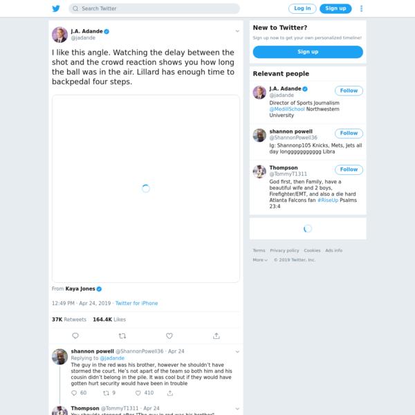 J.A. Adande on Twitter
