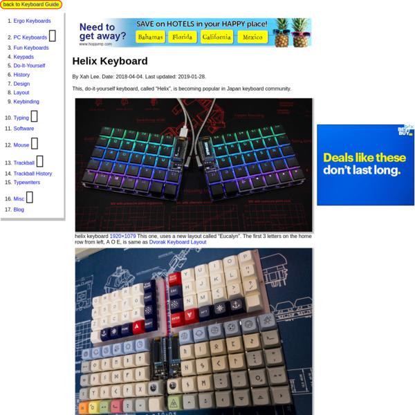 Helix Keyboard