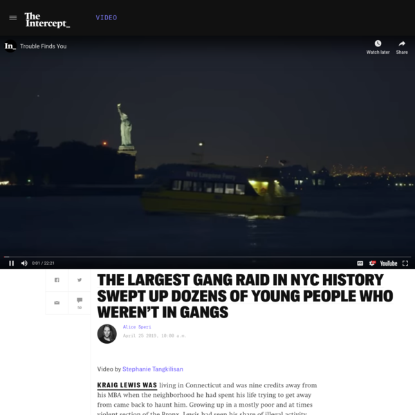 The Largest Gang Raid in NYC History Swept Up Dozens of Young People Who Weren't In Gangs