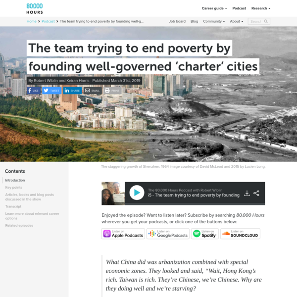 The team trying to end poverty by founding well-governed 'charter' cities