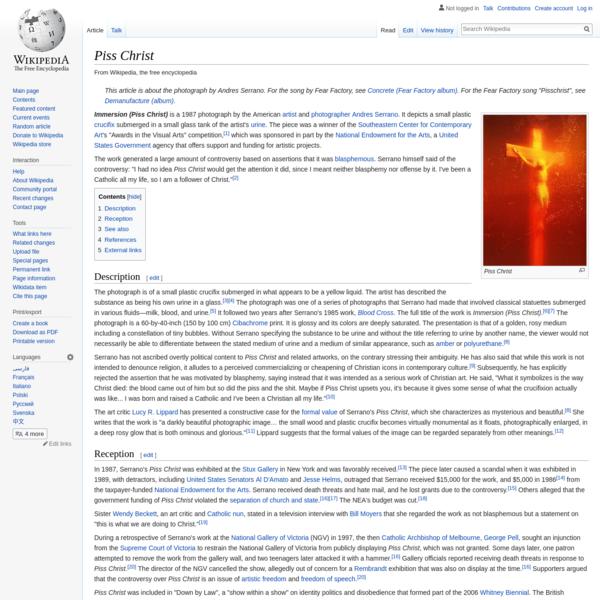 Piss Christ - Wikipedia