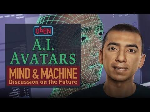 AI Avatars and Virtual Human Digital Twins with ObEN CEO Nikhil Jain on MIND & MACHINE