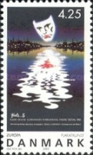 2003 EUROPA Stamps - Poster Art