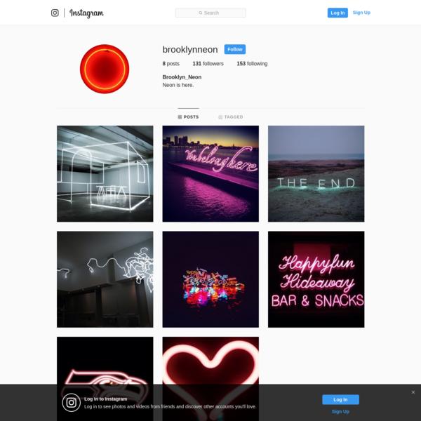 Brooklyn_Neon (@brooklynneon) * Instagram photos and videos