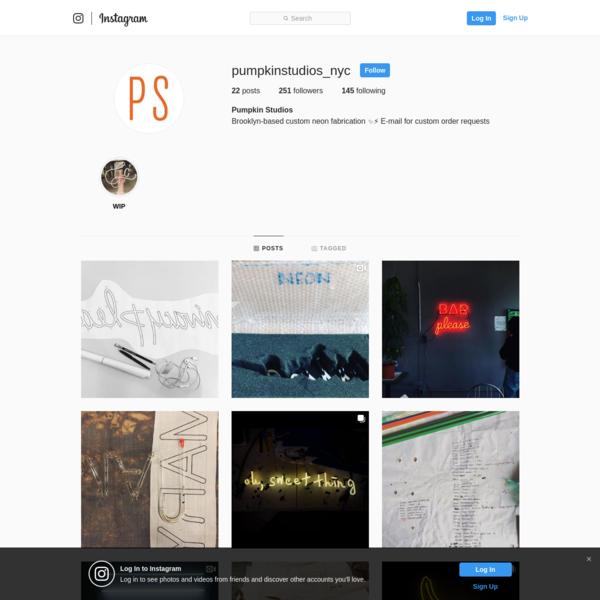Pumpkin Studios (@pumpkinstudios_nyc) * Instagram photos and videos