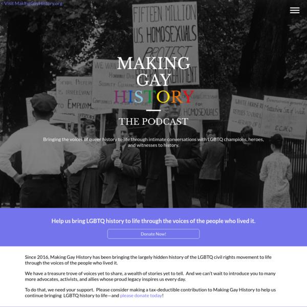 Home   Making Gay History