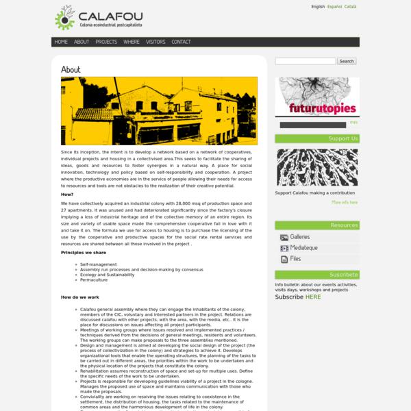 About | Calafou