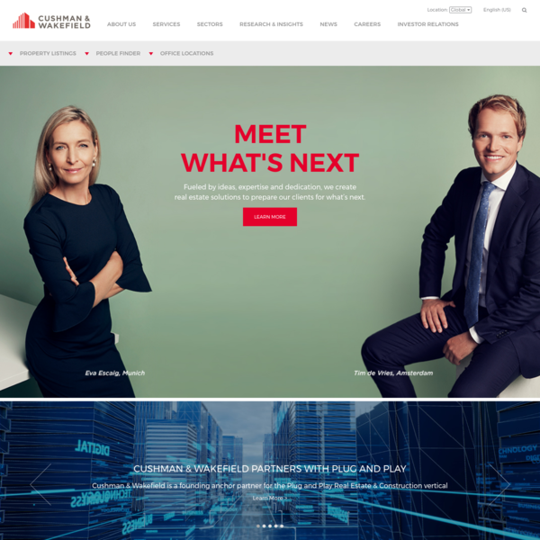 Cushman & Wakefield - Commercial Real Estate Brokers And Consultants - Cushman & Wakefield