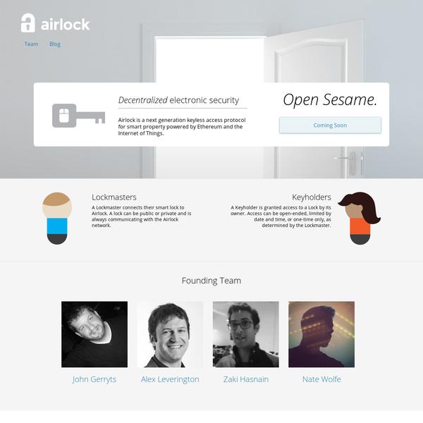 Airlock - Open Sesame.