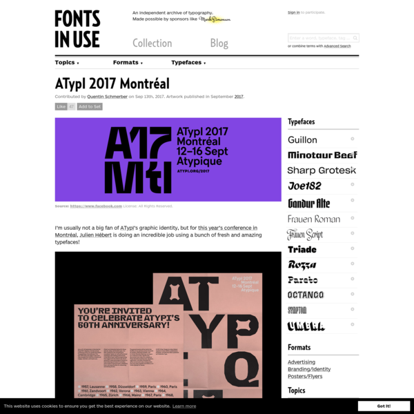 ATypI 2017 Montréal