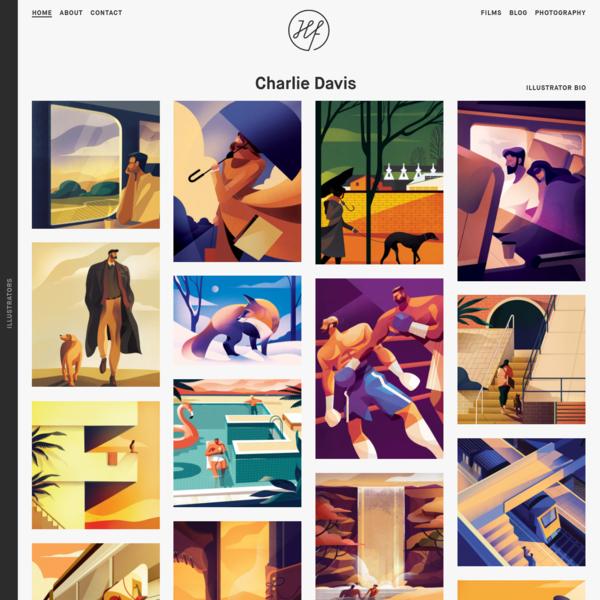Charlie Davis - Handsome Frank Illustration Agency