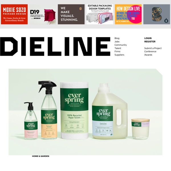 Target's Everspring Delivers Down-To-Earth Household Solutions | Dieline