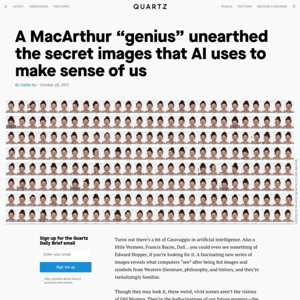 The secret images that AI use to make sense of humans
