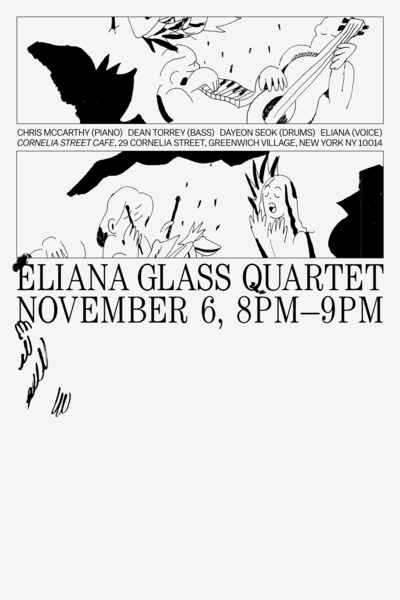 Eliana Glass Quartet - Nov. 6