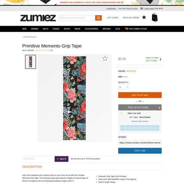Primitive Memento Grip Tape | Zumiez