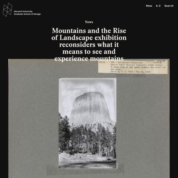 Mountains and the Rise of Landscape exhibition reconsiders what it means to see and experience mountains