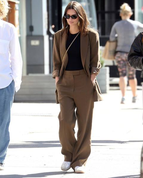 @emrata with the look of the day 🥇